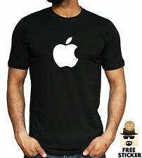 APPLE Logo T shirt GLOW IN THE DARK iPhone Tech Technology ALL SIZES & COLOURS
