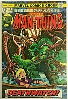 MAN-THING#9 FN/VF 1974 MARVEL BRONZE AGE COMICS