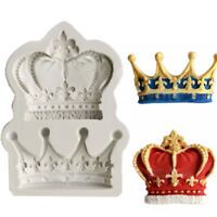 3D Silicone Crown Shaped Baking Mold Fondant Cake Cookies Chocolate Decor Mold