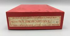 HO Scale Structures Ltd. NY Brownstone Kit #103
