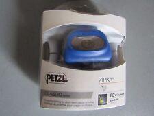 Petzl E93ZB LED Head Torch ZIPKA 1 x AAA, Blue - 80lm - 1005N 8125403