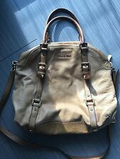 Michael Kors Bedford Large Bowling Tan Satchel