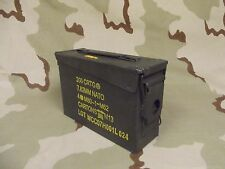 1(One) 30cal M19A1 Ammo Can Box Military Surplus good condition 30 Caliber