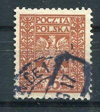 POLOGNE, 1928-29, timbre 348, ARMOIRIES, oblitéré