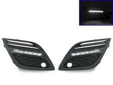 USA 2010-2013 Volvo XC60 Bumper LED Daytime Running DRL Fog Light Trim Fog Lamp