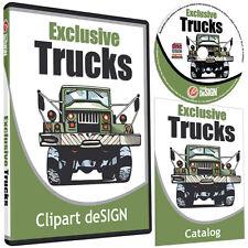 Trucks Clipart Vinyl Cutter Plotter Images Eps Vector Clip Art Cd