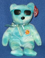 TY PICNIC the BEAR BEANIE BABY - MINT with MINT TAG - BBOM
