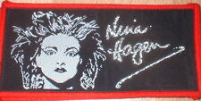 NINA HAGEN VINTAGE   sew on  patch, original 80's
