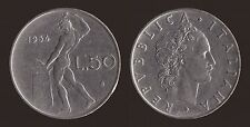 50 LIRE 1954 VULCANO - ITALIA