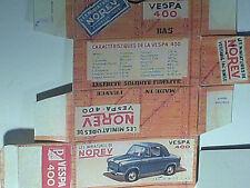 REPLIQUE BOITE VESPA 400 NOREV 1958