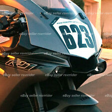front numberplate  for street bodywork designed to fit 2015 2016 yamaha R1