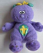 RARE & RETIRED MOTHERCARE PURPLE TEDDY COMFORTER SOFT TOY NEXT DAY POST