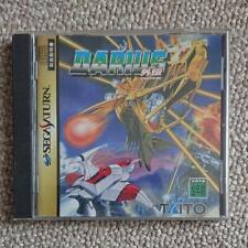 Darius Gaiden Sega Saturn Taito Action Shooting Game Complete with Obi