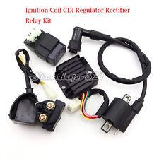 Ignition Coil CDI Regulator Rectifier Relay Kit For 150cc 200cc 250cc ATV Quad
