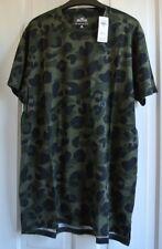 New Hollister mens Camouflage T-shirt Khaki  S