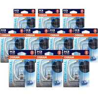 Set 10x Osram H3 Original Line 12V/55W Sockel PK22s 3200 K