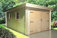 Agande Holzgarage Blockhaus Garage Autogarage Holz 510x330,28mm 2839209