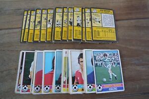 Topps Scottish Yellow Back Football Cards 1977 - Good/Fair - Pick Cards Needed!