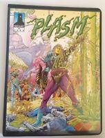 1993 Defiant Plasm Comics Collector Album Binder For Card Set & #9 Card (CB-129)
