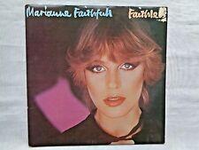 Marianne Faithfull  Faithless 1978 NEMS NEL-6012 Orig. Virtue Mastering Press EX