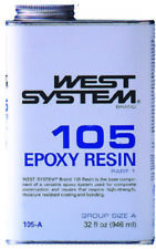 Boat Marine West System Epoxy Resin Part 1 Clear Low Viscosity Resin 105B GALLON
