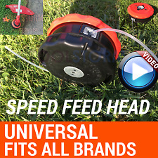 UNIVERSAL SPEED FEED LINE TRIMMER HEAD SUIT Husqvarna Kawasaki Echo Stihl Victa