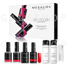 MESAUDA STARTER KIT UNGHIE SEMIPERMANENTE GEL POLISH PROFESSIONALE UV LED NAILS