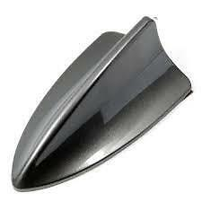 Rear Shark Fin Aerial AM/FM Antenna fits RENAULT TWINGO Grey