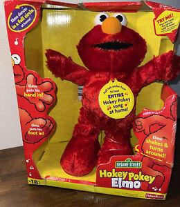New Sesame Street Hokey Pokey Elmo Fisher Price Dancing Doll 2002