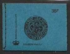 DP3 June 1974 - British Coins 35p Stitched Booklet Complete