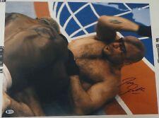 Bas Rutten Signed 16x20 Photo Beckett COA UFC 20 1999 Picture vs Kevin Randleman