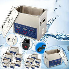 Ultraschallreiniger Reinigungsgerät  Ultraschallreinigungsgerät Edelstahl +Korb