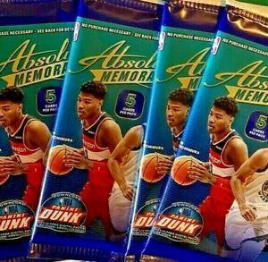 2019-20 Panini Absolute MEMORABILIA Basketball NBA Cards GRAVITY Pack *SEALED*