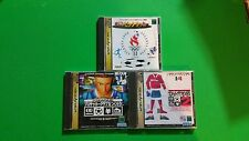 3 Sega Saturn Soccer Lot Japan Import US SELLER