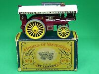 Matchbox Yesteryear Y9-1 1924 Fowler Big Lion Showman's Engine (BLACK BASEPLATE)