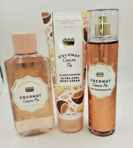 Bath & Body Works Coconut Cream Pie Collection