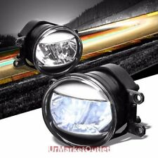 Clear Lens Chrome Housing Fog Light/Lamp For Toyota 07-13 Camry/Corolla/Matrix