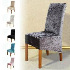 1PC Multicolor Dining Room Chair Covers Slip SEAT Cover Stretch Removable