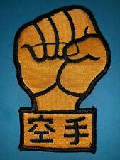 Vintage Taekwondo Goju Ryu Karate Mma Martial Arts Tkd Uniform Patch Crest 592T