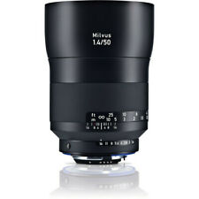 Zeiss Milvus 50mm F/1.4 ZE Lens Canon Fit