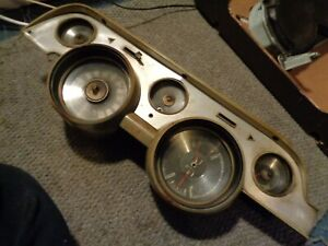 1967 67 ford mustang c7zf-10843 gauges instrument cluster dash 120mph