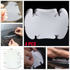 4pcs Invisible Clear Car Door Handle Paint Scratch Protector Guard Film Sheet
