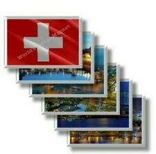 CH - Svizzera frigo calamite frigorifero magneti fridge magnet Kühlschrankmagnet