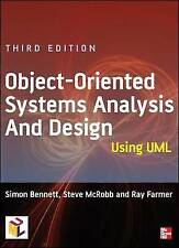 Object-Oriented Systems Analysis and Design Using UML, Acceptable, Bennett, Simo