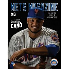 2019 NEW YORK METS OPENING DAY PROGRAM CESPEDES DEGROM SYNDERGAARD CANO