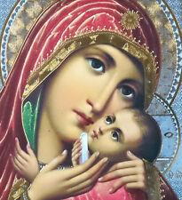 RUSSE ORTHODOXE Icon Mary Jésus kasperovskaya smali ICON