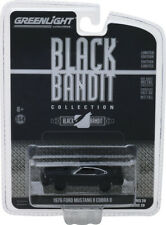 Greenlight Black Bandit Series 20 1976 Ford Mustang II Cobra II
