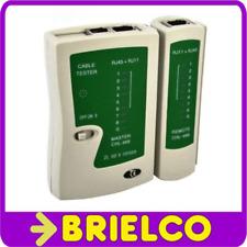 COMPROBADOR TESTER CABLE LAN RED PARA RJ45 Y RJ11 INFORMATICA TELEFONICA BD9278