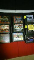 Lot Of 9 Sega Genesis Games Untested