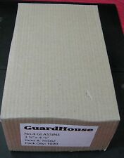 "GUARDHOUSE BRAND GLASSINE ENVELOPE SIZE #4. 1000 COUNT  3 1/4"" x 4 7/8"""